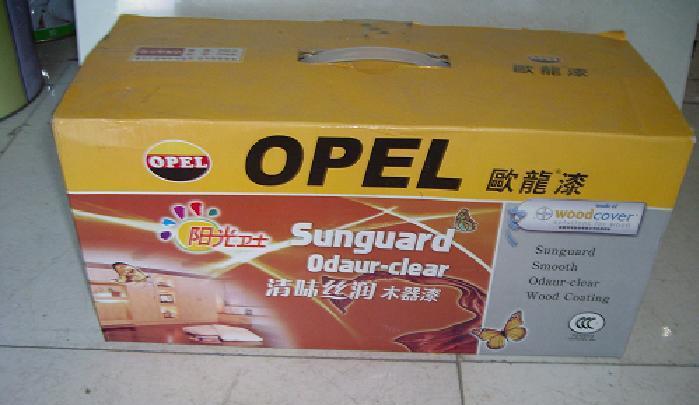 欧龙阳光卫士清味丝润聚脂木器清底漆阳光卫士
