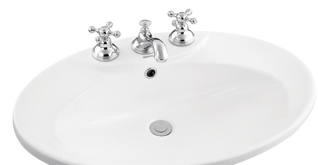 TOTO台上式洗面盆LW910LW910