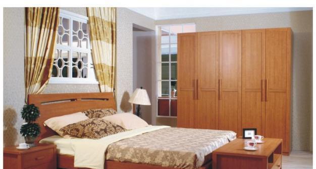 华源轩卧室1.8m床樱桃2代系列T-R2801AT-R2801A