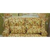 龙森T02双人沙发(白色田园)