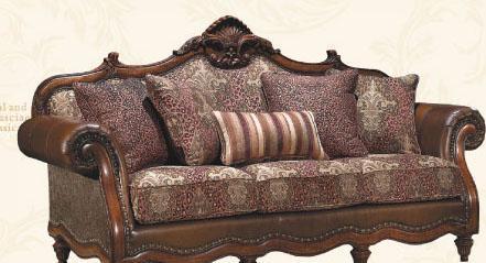 大风范家具路易十六客厅系列LV-692-3三人沙发LV-692-3三人沙发