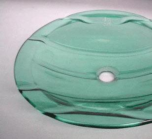 古亚立体玻璃盆Y022