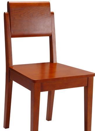 树之语加枫系列CT128餐椅(白色皮)CT128