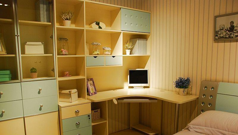 我爱我家儿童家具FG46-K+S+Y+RAA组合书桌FG46-K+S+Y+RAA