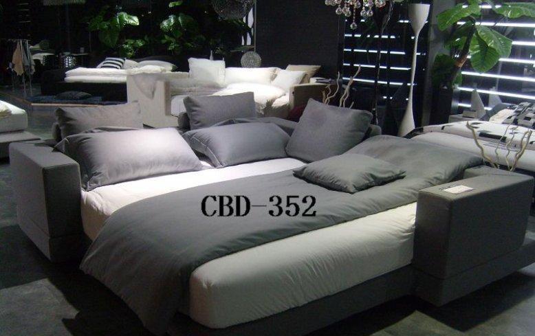 CBD布艺软床352352