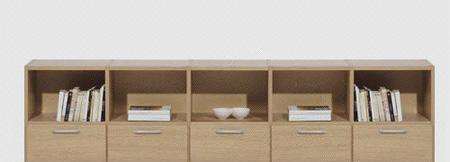 北山家居书房家具书柜2AA020A102AA020A10