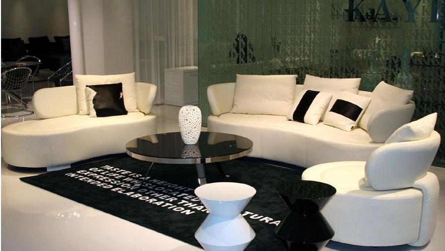 凯帝家具KD8010沙发(一人位+三人位+贵妃)
