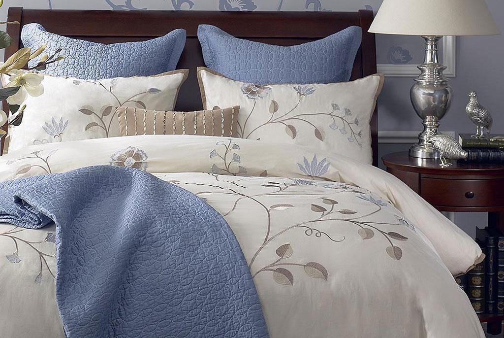 Harbor House床上用品Camellia-Blue-系列Camellia-Blue-系列
