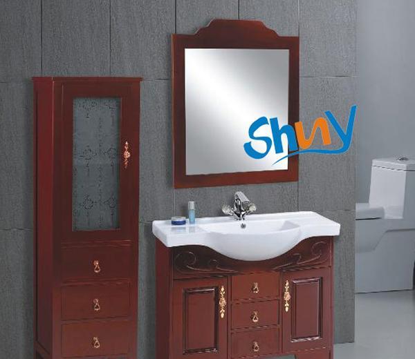 顺一J112实木浴室柜J112