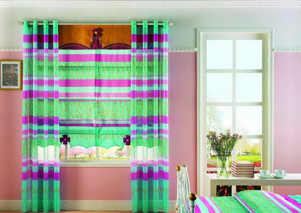 布易窗帘现代时尚系列柔如彩虹柔如彩虹