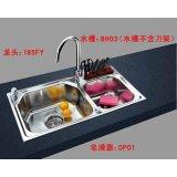 GORLDE厨房配件套餐BH03系列水槽BH03+龙头195FY