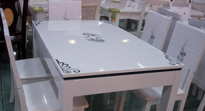 龙森653亮光烤漆餐桌653