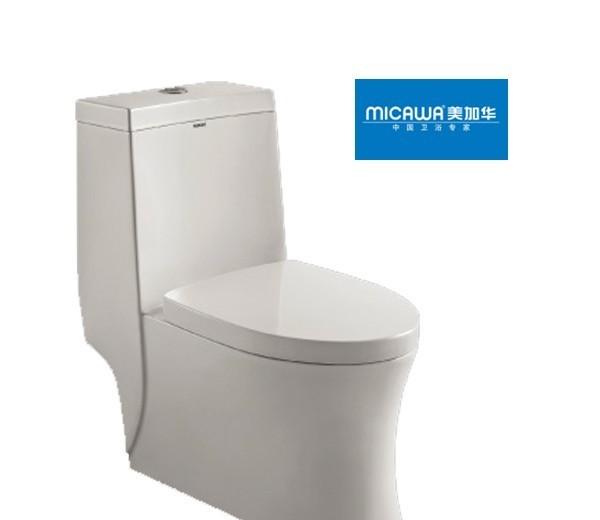 美加华-连体座便(300MM,400MM)M-1839(喷射虹M-1839