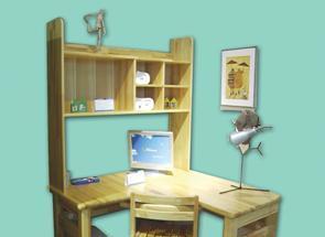 雅琴居儿童转角书架电脑台家经典星星索系列S627S6277-A/B
