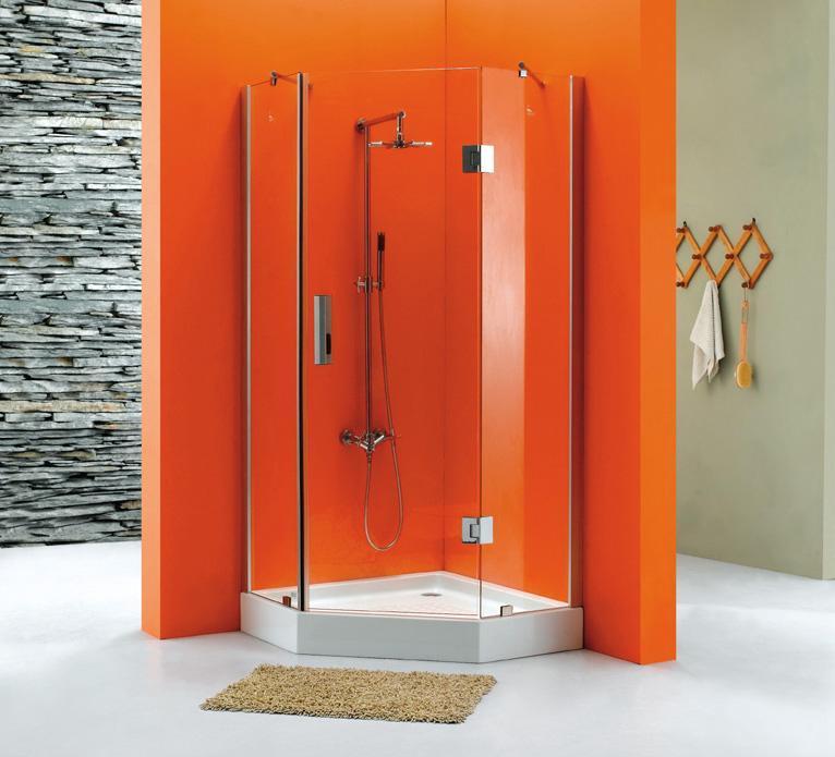 卫欧卫浴玻璃淋浴房VG-528VG-528