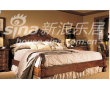 宜伟卧室家具柚木YW-SWF-21床