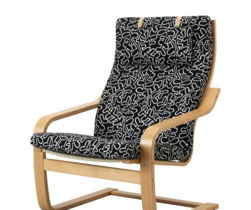 宜家波昂(黑白色/沙色/白色)单人沙发