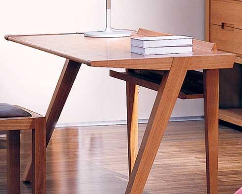 树之语全实木水曲柳原木系列A-书桌1#A-书桌1#