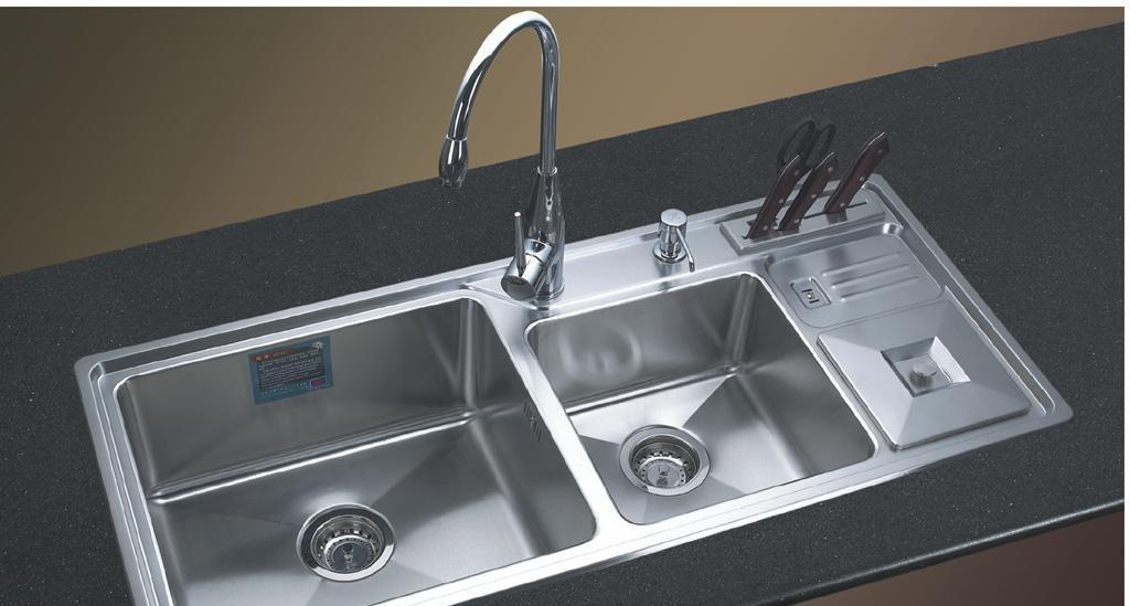 阿发厨房水槽AF-1080B