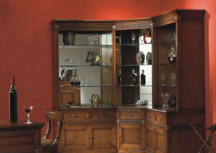 大风范家具积家传奇餐厅系列JE-656-0酒吧角柜JE-656-0酒吧角柜