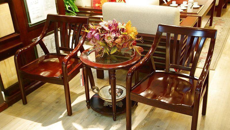 光明客厅家具实木圈椅086-4306-57086-4306-57