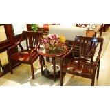 光明客厅家具实木圈椅086-4306-57