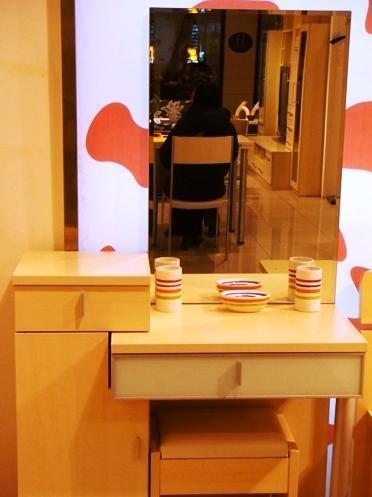 五木板式家具系列-梳妆台WD-6