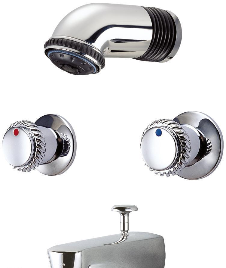 TOTO入墙式淋浴、盆池用龙头DB201-1DB201-1