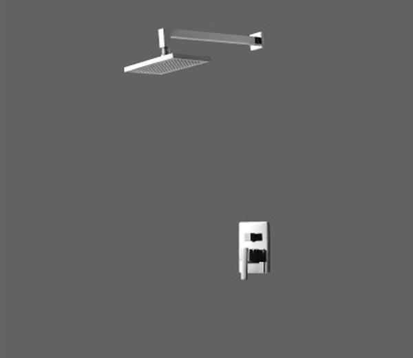 美加华M-3748-1C入墙式浴缸龙头(含花洒)M-3748-1C