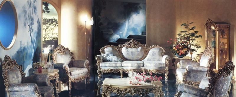 罗浮居意大利SILIK家具F1-43-015-D01沙发F1-43-015-D01