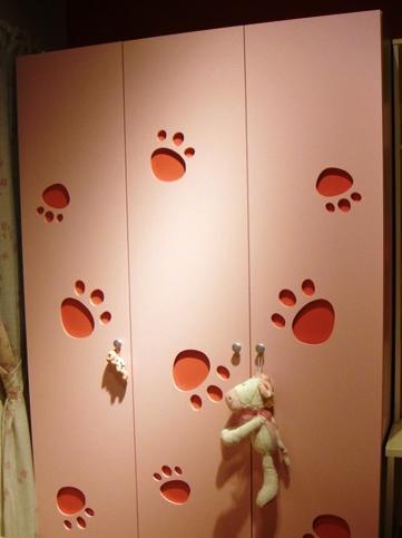 我爱我家家具-板式两门柜F006AF006A