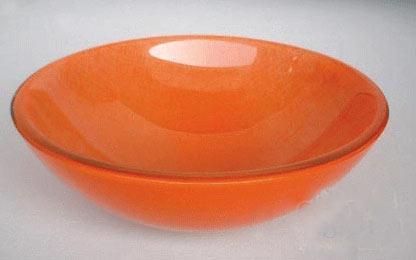 古亚双层玻璃盆S128