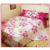 安寝家纺春之物语高级斜纹床上用品四件套