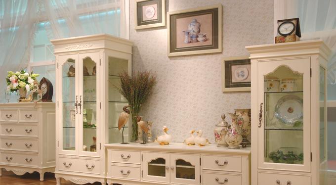 树之语客厅柜右柜白色梦想系列MX307MX307