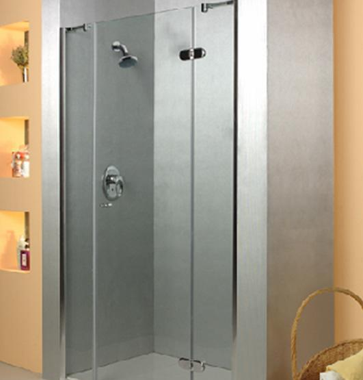 乐家卫浴夏威夷系列非标准型淋浴房(右开门,2固N055R0012