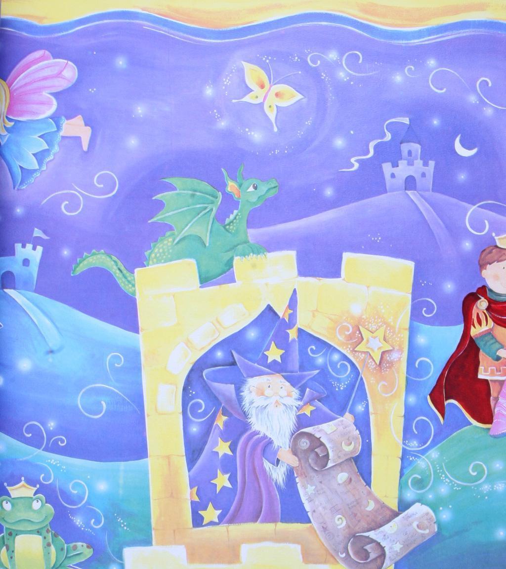 格莱美3956-1童话壁纸3956-1