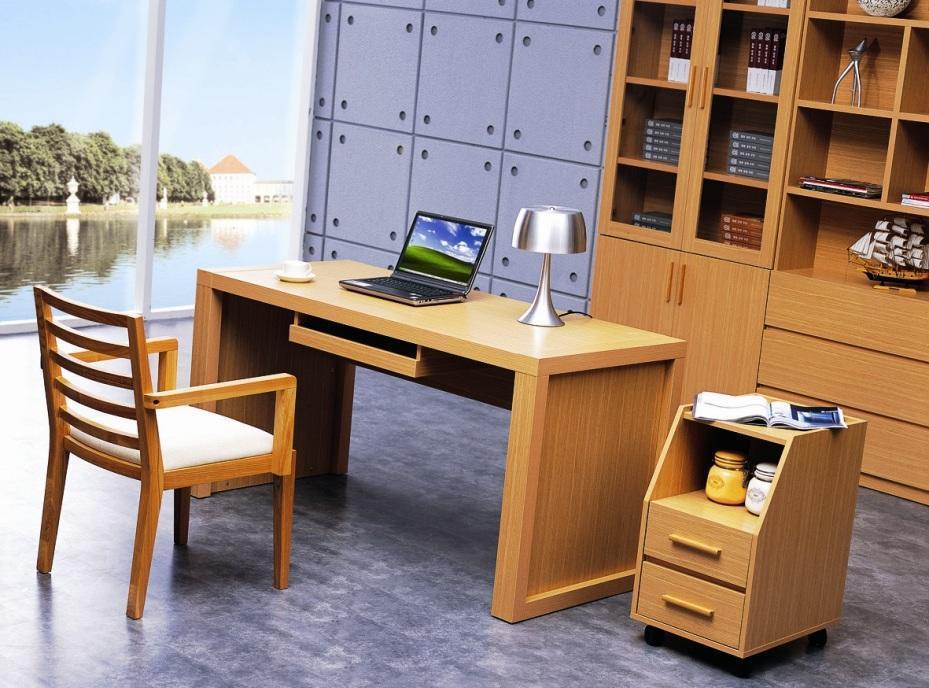 华源轩- 书房家具-白橡系列-书台-B702AB702A