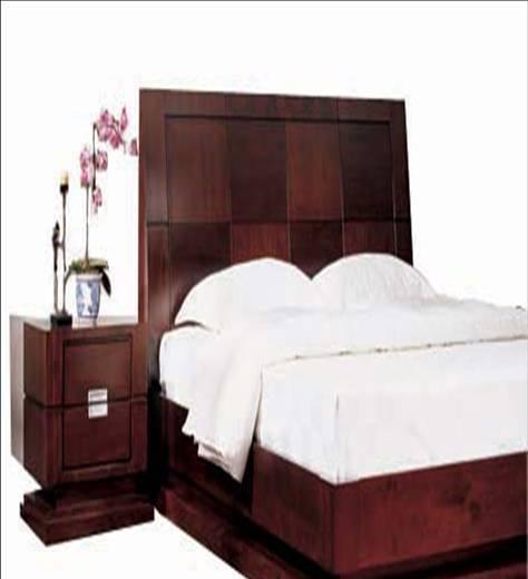 美凯斯卧室家具写意东方系列床M-C102B-1M-C102B-1