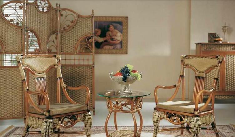 翡翠藤器休闲椅组合6索菲亚索菲亚