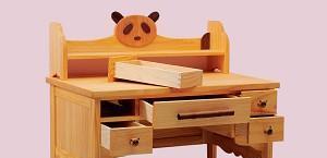 爱心城堡儿童桌子熊猫系列J001-DK1-NRJ001-DK1-NR