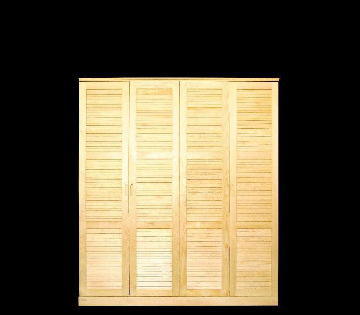 贵人缘松木衣柜C03-4C03-4