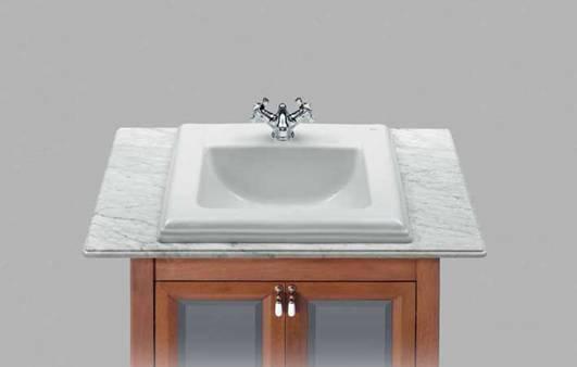 乐家卫浴艾美台上式洗脸盆3-27495..03-27495..0