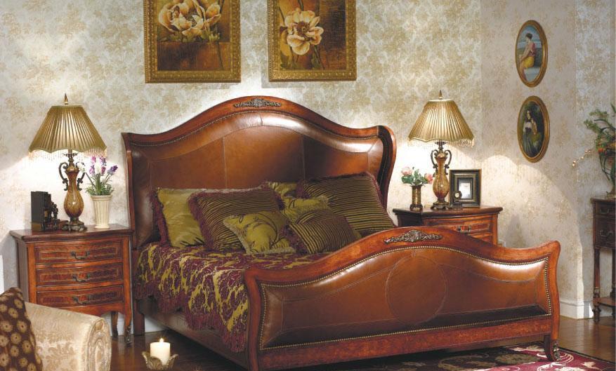 大风范家具路易十六卧室系列LV-881床LV-881床