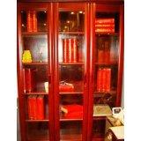 光明实木书房家具系列-三门书柜001-6份17-7208B