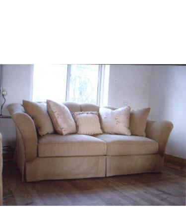 林木工坊家具经典美式三人沙发