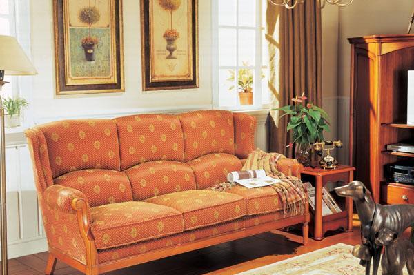 大风范三人沙发新洛可可系列RC-690-3RC-690-3