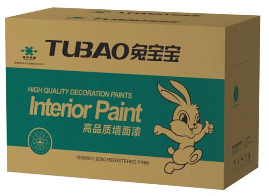 兔宝宝易涂宝抗污高品质墙面漆