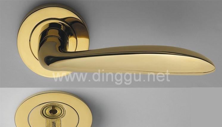 顶固D7101PVD高强合金分体锁D7101PVD