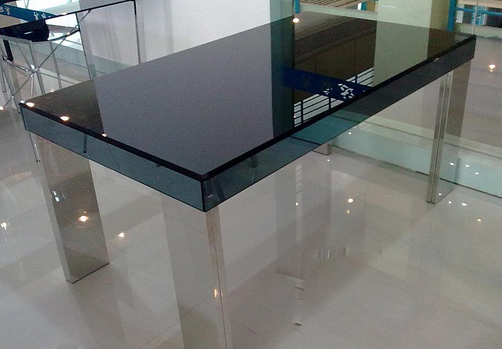 朗臣时尚透明系列DLY-T998餐桌DLY-T998