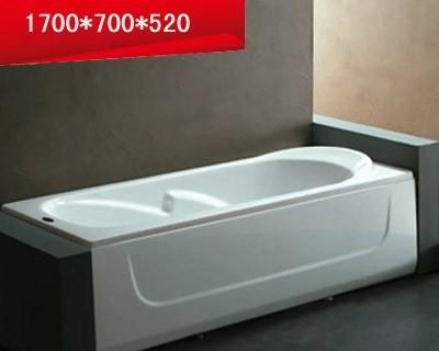 法恩莎单裙浴缸-F1716Q不含去水(1700*700*520mF1716Q